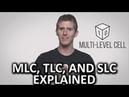 SSD Flash Memory - MLC, TLC, and SLC