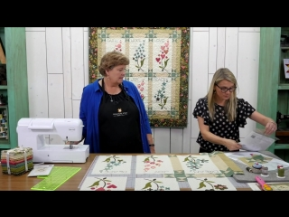 Make a Harmony Block of the Month Quilt with Jenny and Edyta Sitar!