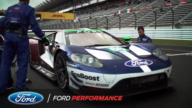 Ford Chip Ganassi Racing: Podium in Japan! | Ford Performance