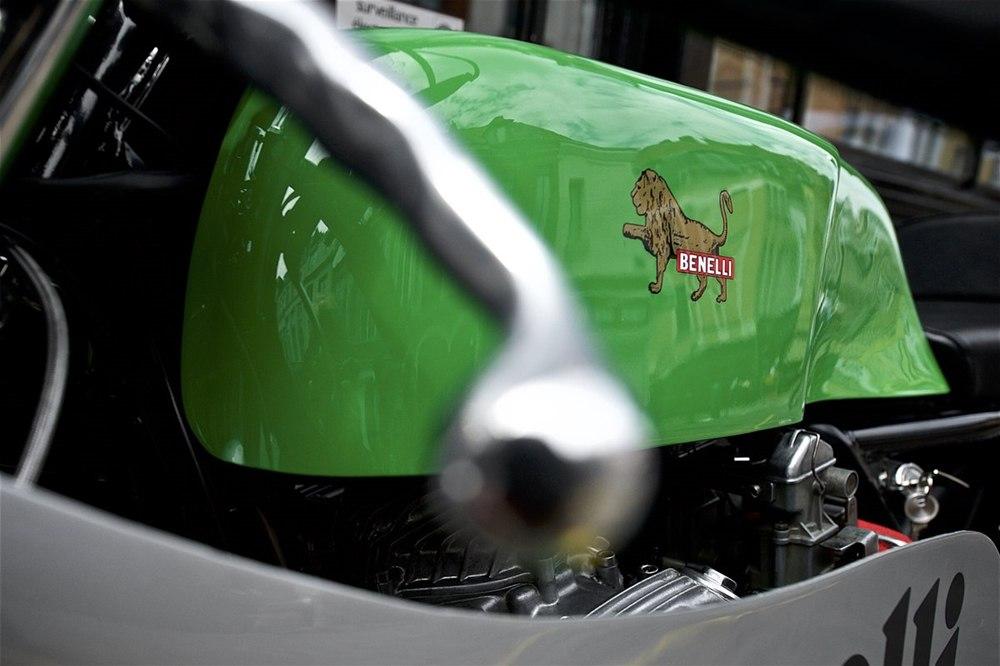 Legend Motors: отреставрированный Benelli Quattro Corsa