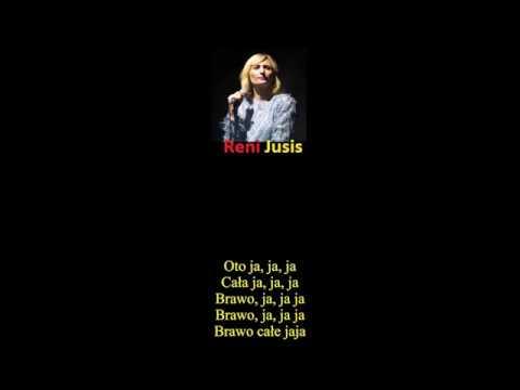 POLAND Top Singer- Reni Jusis- Bejbi Siter [Lyric]