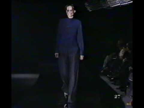 Olivier Theyskens Fall Winter 1999-2000 - part 1