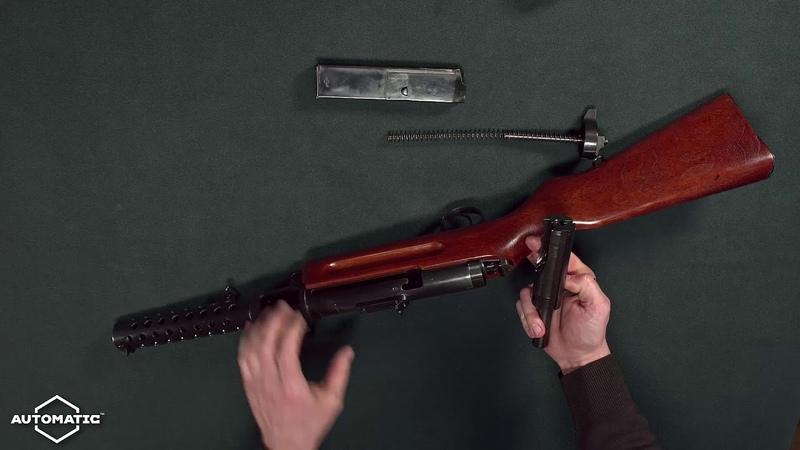 Неполная разборка и сборка охотничьего карабина AUTOMATIC M P 18 II