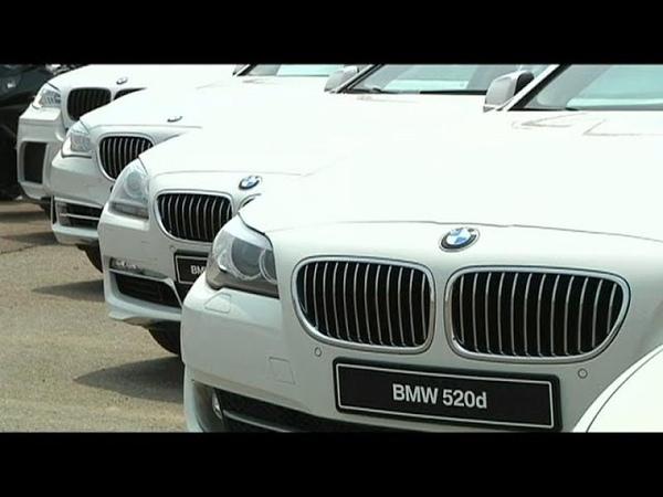Самовозгорание BMW