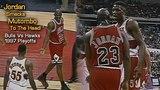 Michael Jordan Accidentally Smacks Dikembe Mutombo To The Head!