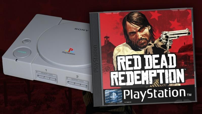 Трейлер RED DEAD REDEMPTION для PSOne