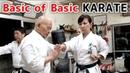 Minoru Higa's practice 2 | Basic of Basic | 比嘉稔先生 | 小林流究道館