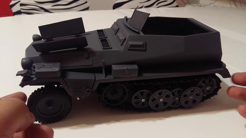Sdkfz 250 1:16 scale, внешний вид