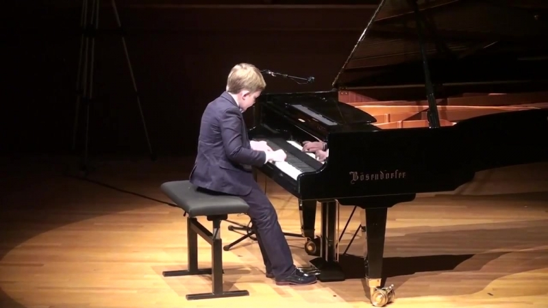 11. Bach J.S. Invention No.8 in F Dur (BWV 779) by Pyotr Akulov at C.M.F. 2015