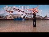 12.5.2018 ЧМ-1 A-class Slow 7 место №287 Роман Самохвалов - Наталья Гейнеман