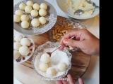 Конфеты Raffaello (ингредиенты указаны под видео)