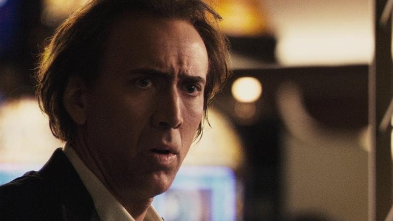 Пророк (2007)|Френк Кадилак ускользает от охраны казино|Фрагмент из фильма