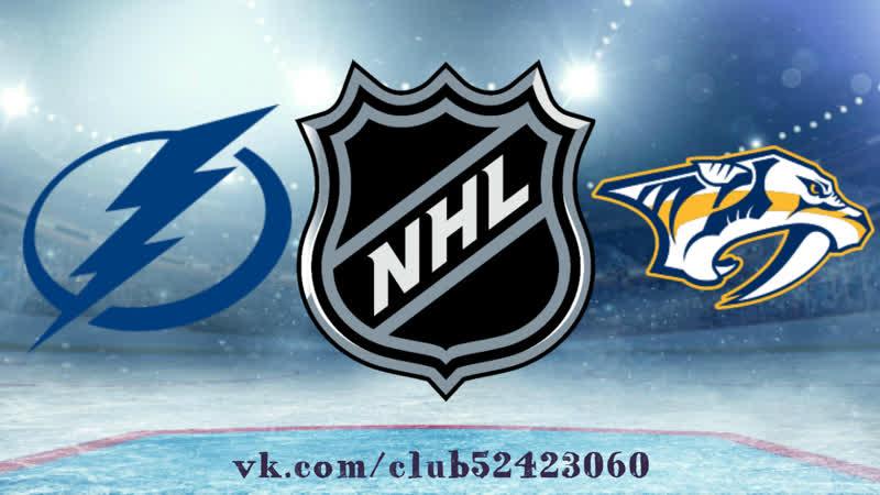 Tampa Bay Lightning vs Nashville Predators   19.11.2018   NHL Regular Season 2018-2019