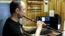 Китайская флейта сяо Попытки извлечь звуки
