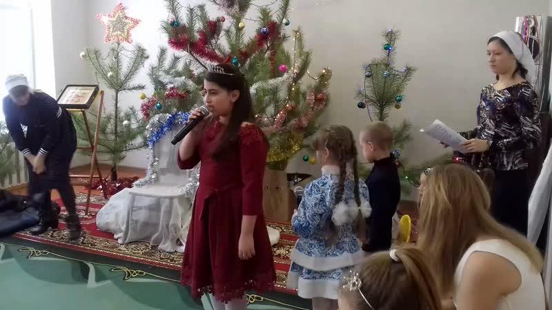 Рождественкий утренник в нашем храме