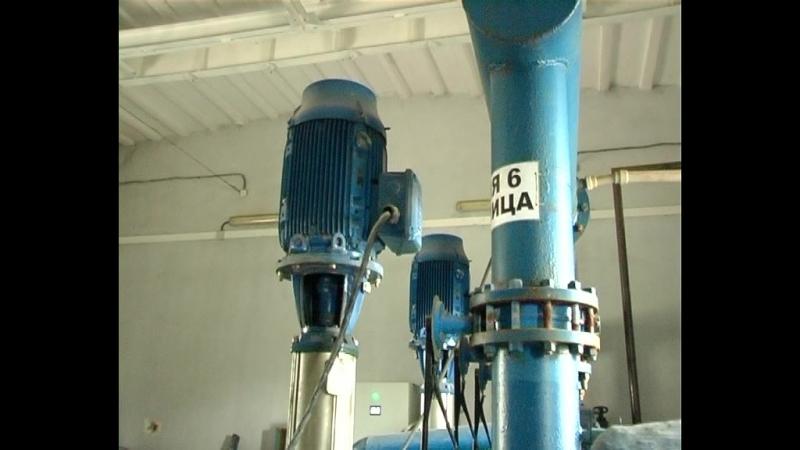 Для улучшения водоснабжения в г. Комсомольское, начата реконструкция насосных установок