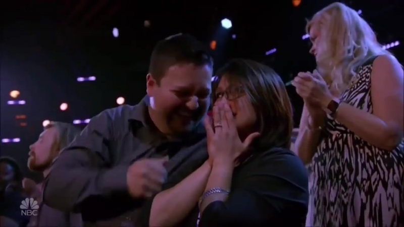 Little Girl _SHOCKED Starts to CRY_ after She Gets... _ Americas Got Talent