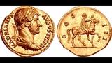Аурей, 138 г. н.э., Монета Адриана, Древний Рим, Aurey, 138 AD, Coin of Adrian