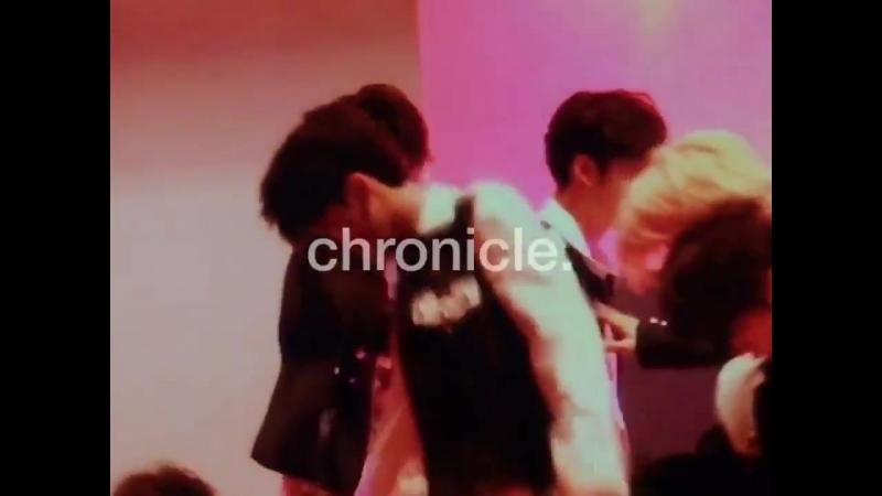 фанкам 180523 Выступление Stray Kids с Mirror фокус на Чанбина @ 37th Woonhyun Music Festival