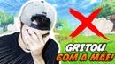 ELE GRITOU COM A MÃE AO VIVO Fortnite Battle Royale Softe