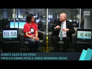 Priscila Ebara (PCO) x Jorge Bernardi (Rede)