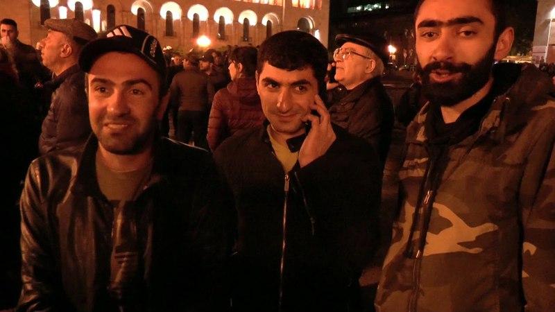 АРМЯНСКИЙ МАЙДАН Чем заканчивается каждый день армянской революции