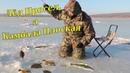 Зимняя рыбалка на поплавок и блёсны. Подлёдный лов на меляках