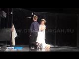 В Курганском театре необычную лекцию прочитала Нелли Уварова