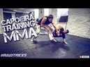 Capoeira for MMA training day coordination low footwork kicks takedowns