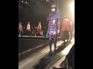 Показ Chanel Métiers d'Art 2018 Paris-Hamburg в Москве
