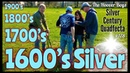 1600's Silver!! Metal Detecting 4 Centuries of Silver Coins Exploring Colonial New England
