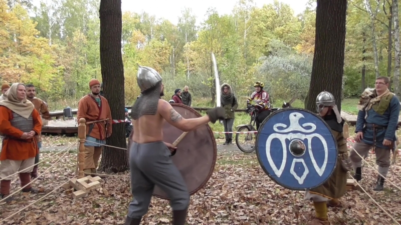 Рагнарёк. Варяжские ратные игры. часть 2. Sann Varing. 6.10.2018.