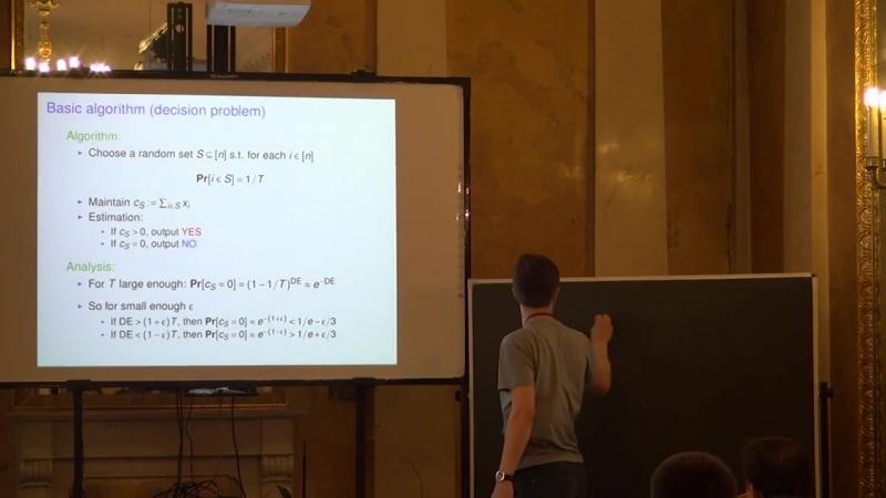 Lecture 5   Recent Advances in Algorithms   Michael Kapralov