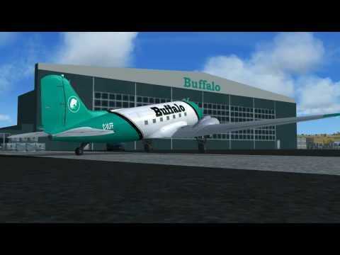 FSX Douglas DC-3 Pratt Whitney R1830 Radial Sound Package (The Most Realistic)