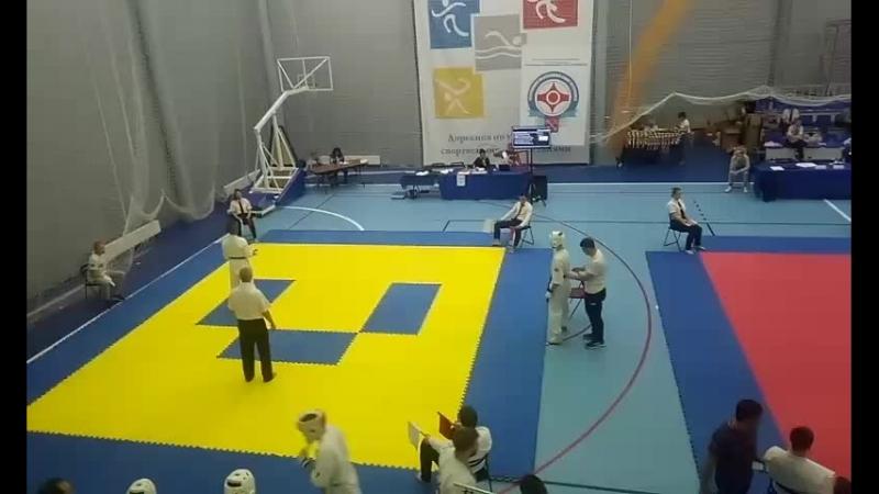 Макс соревнования 30.09.18. певый бой.