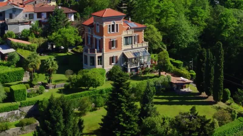 Art Nouveau Villa on Lake Maggiore, Italy
