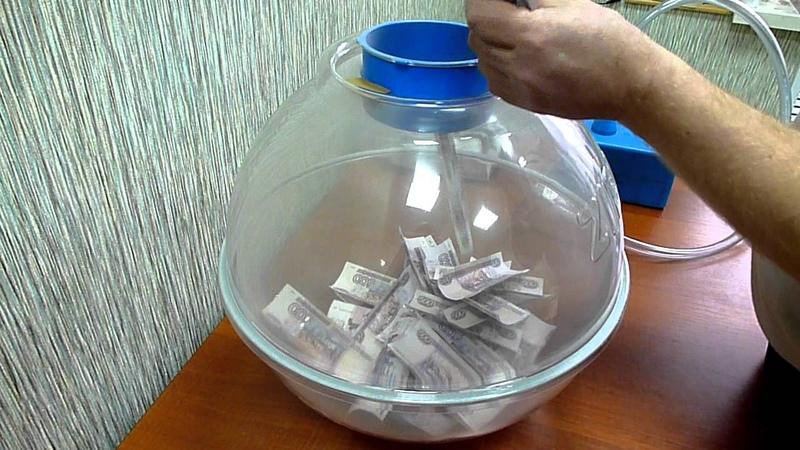 25 тысяч рублей в воздушном шарике - оригинальный подарок