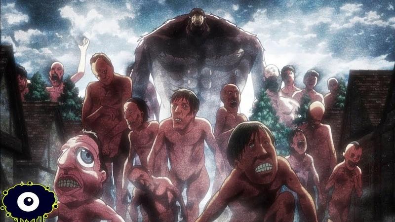 El Origen de los TITANES ¿Por que Comen Humanos Explicación Attack on titan Shingeki No Kyojin