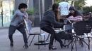 مقلب سحب الكرسي من أسفل الناس في الشارع - شاه