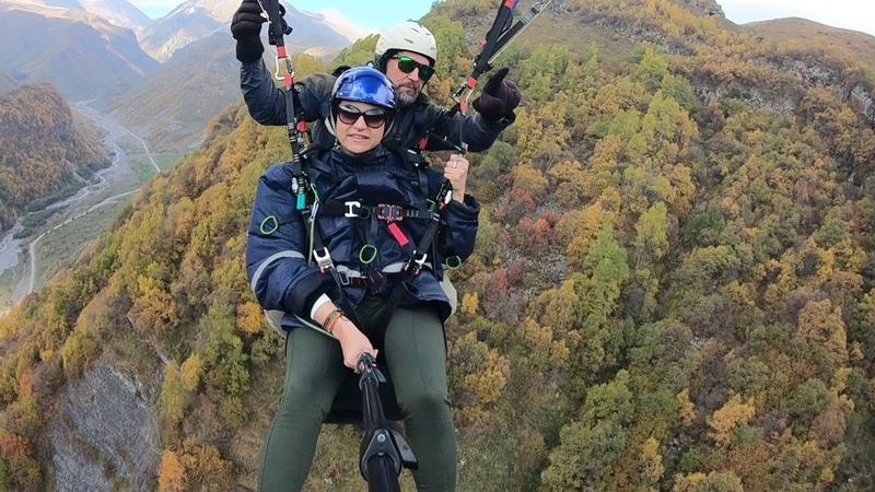 12102018 gudauri paragliding полет гудаури بالمظلات، جورجيا بالمظلات gudauriparagliding com 62