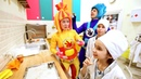 Поиграйка - ФИКСИКИ - Пекарня - Готовим Печенье - Фиксики в Кидбурге Город Профессий