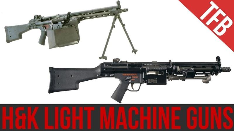 HK's Light Machine Guns: Rare but Effective (HK21/23 HK11)
