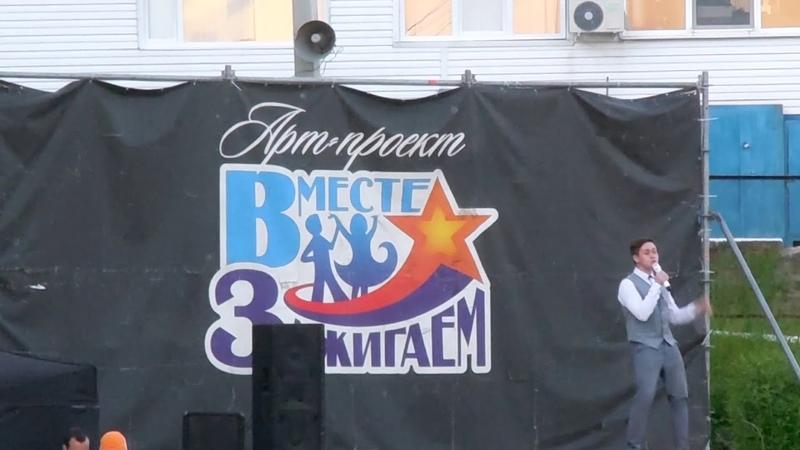 Дамир Исламов на Фестивале волшебных шаров Ижевск