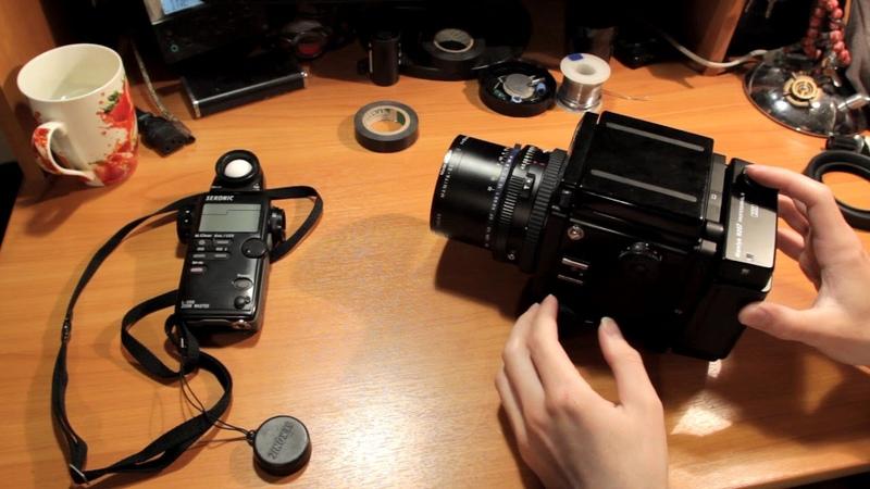 Обзор на среднеформатную пленочную камеру MAMIYA PZ67