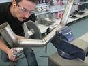 Metabo Power Tools Superfast grinding, finishing and polishing of metal tubes.wmv
