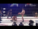 YAMATO, BxB Hulk (c) vs. Ryo Saito, Don Fujii (Dragon Gate - The Gate of Origin 2018)
