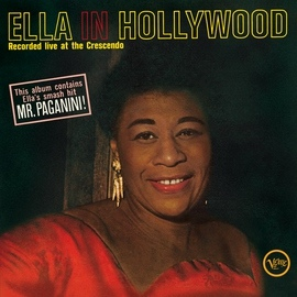 Ella Fitzgerald альбом Ella In Hollywood