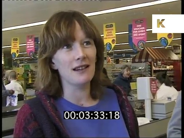 Voting Booths in Supermarkets, 1990s Local Election News Report