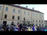 Дмитрий Колдун на высоте в Несвижском замке!