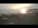 Наш пляж ! Пляж Огонек . Адлер . Сочи 17.08.2017